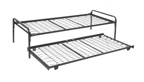 heavy duty metal frames for support of mattress and box with headboard attachment brackets twin frame - Metal Frame Twin Bed